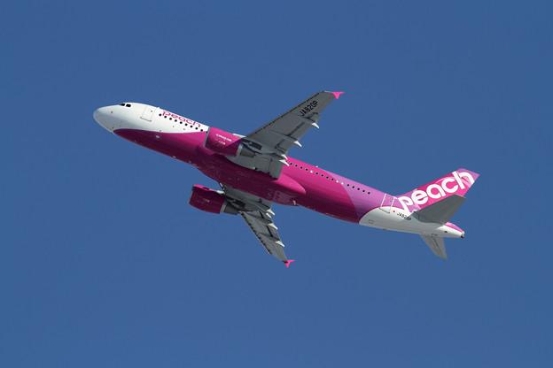 A320 peach20機目のJA820P