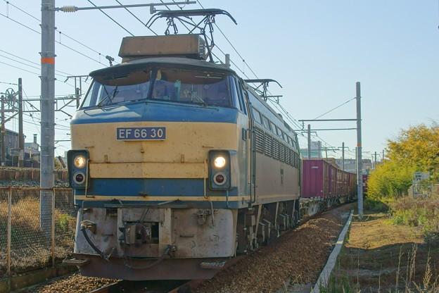 5074レ【EF66 30牽引】