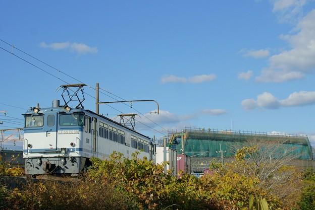 写真: 5087レ【EF65 2050牽引】