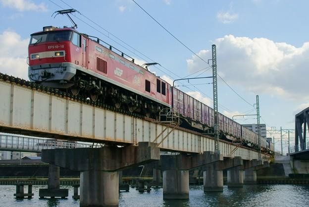 Photos: 4071レ【EF510-18牽引】