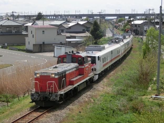 "DE10 3501+キヤE193系""East-iD"" 焼島貨物線検測"