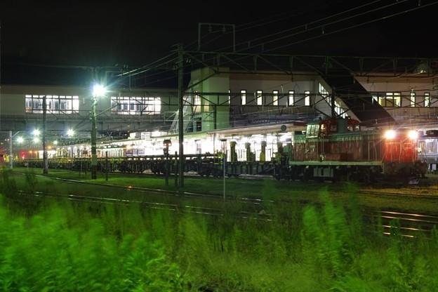 DE10 1680+ロンチキC編成 柿崎工臨