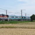写真: DE10 1728+キハE130系500番台6B 甲種輸送
