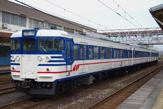 115系N37編成(一次新潟色)
