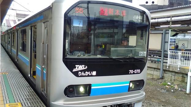 川越駅にて