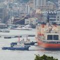 写真: 南極観測船しらせ出港 5