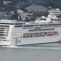MSCリリカ入港 1