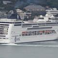 写真: MSCリリカ入港 1