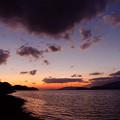 写真: 夕雲