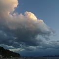 Photos: 岬の雪雲