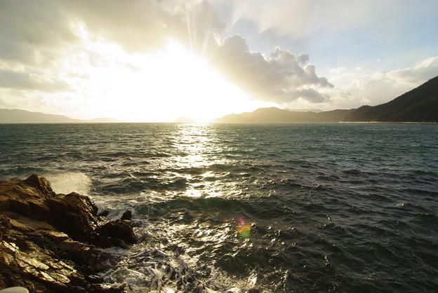 2010年 最後の夕陽の輝き(1)