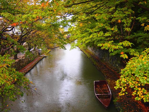 八幡堀・船