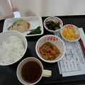 写真: 病院食