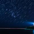 写真: 星の降る夜