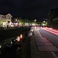 写真: 佐原の夜の賑わい