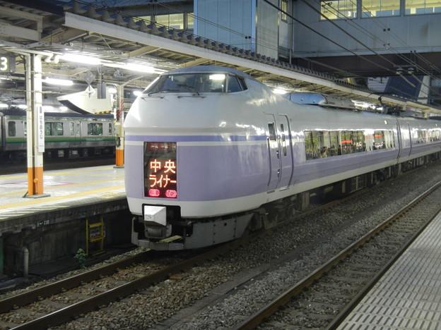 E351 [Chuo Liner] seating guaranteed train