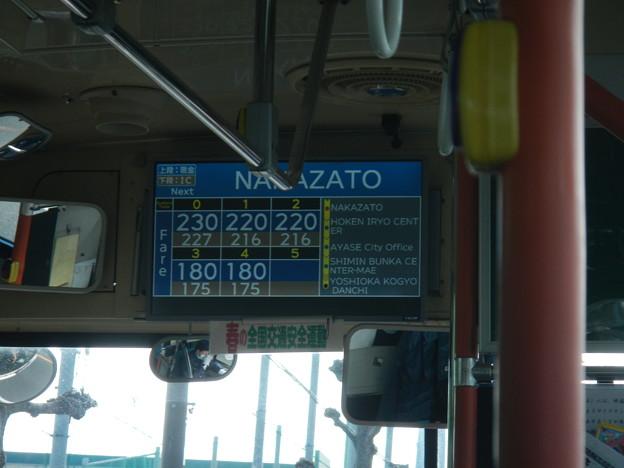 バス3-運賃表