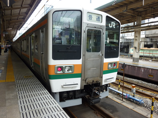 JR東日本211系東チタN60編成