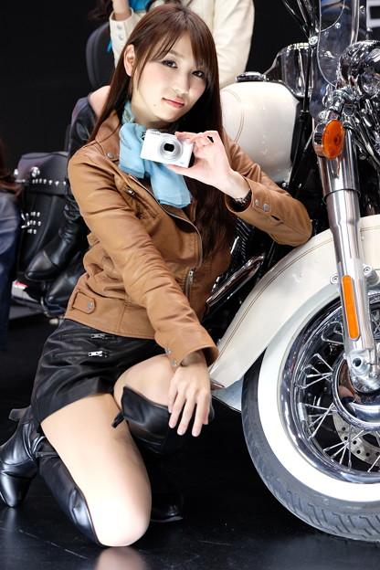 ~ バイクとカメラ、どちらになりたい? ~ 渡辺順子さん