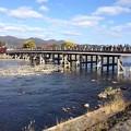 嵐山渡月橋1
