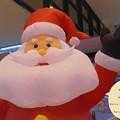 写真: サンタが町へやって来た♪