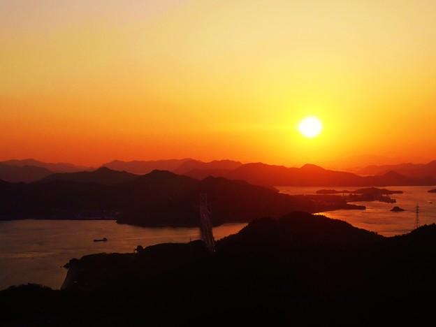しまなみ海道 早春の夕景色 ♪