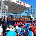 ベッチャー太鼓の演技@みなと祭