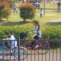 写真: 春は自転車に乗って@遊園地は楽し。