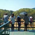 写真: いい眺めだね@チューリップ畑の展望台