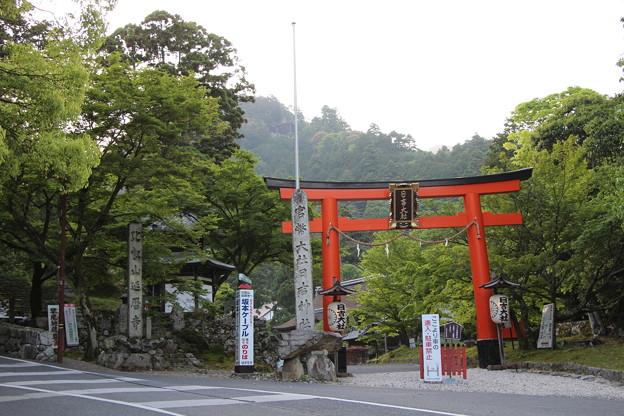 日吉大社の入り口