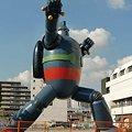 Photos: 鉄人28号モニュメント 2009年9月29日 完成-211108-2