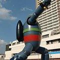 Photos: 鉄人28号モニュメント 2009年9月29日 完成-211108-3