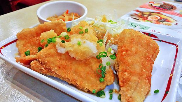 ガスト ( 成増店 )  カレイの竜田揚げ おろしポン酢