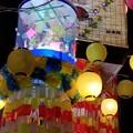 写真: 安城七夕祭りの七夕飾り
