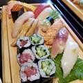 お寿司をどうぞ・・