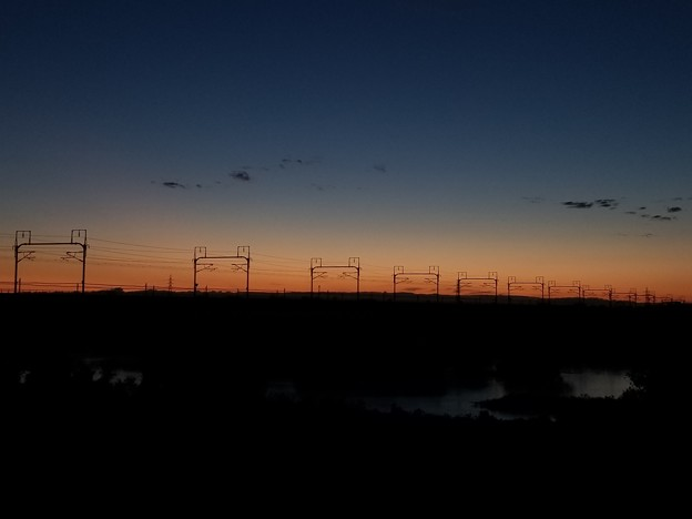 写真: トワイライトの鉄橋