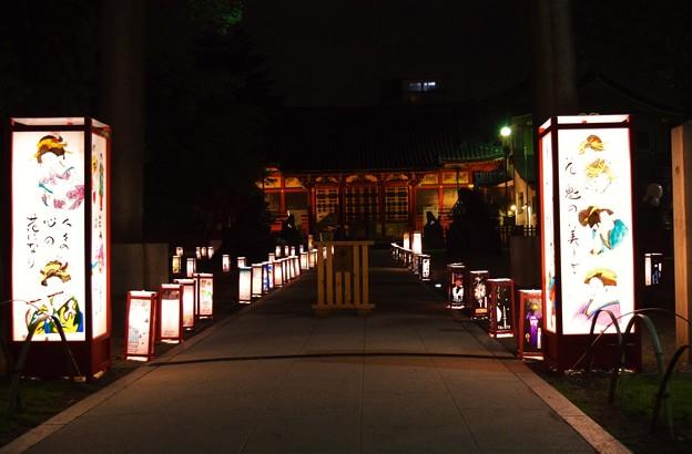 写真: 灯篭祭り
