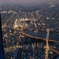 写真: 浅草上空・・・