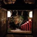 Photos: 秋の夜 貴船神社の灯篭のあかり