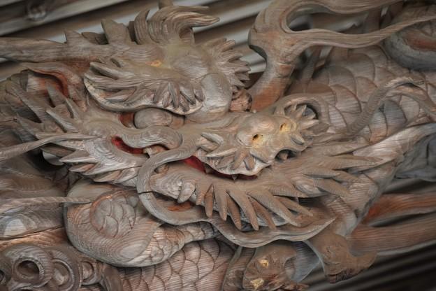 龍の蝦虹梁(えびこうりょう)