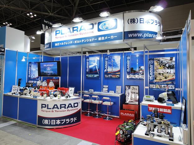 国際風力発電展へ油圧トルクレンチ出品:日本プララド