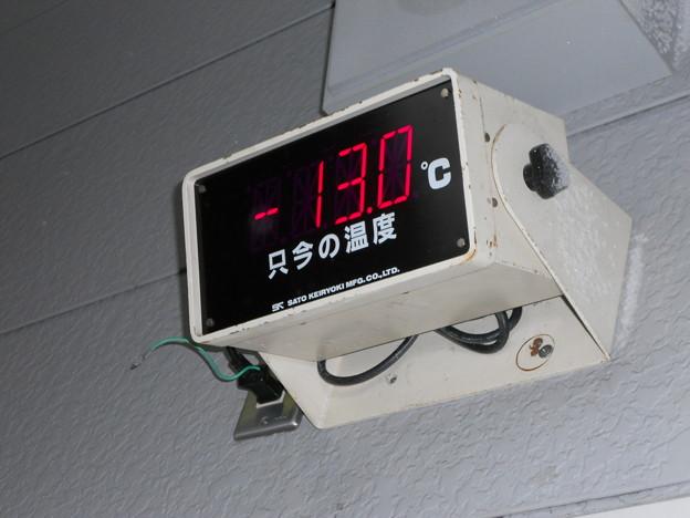 只今の温度-13.0℃