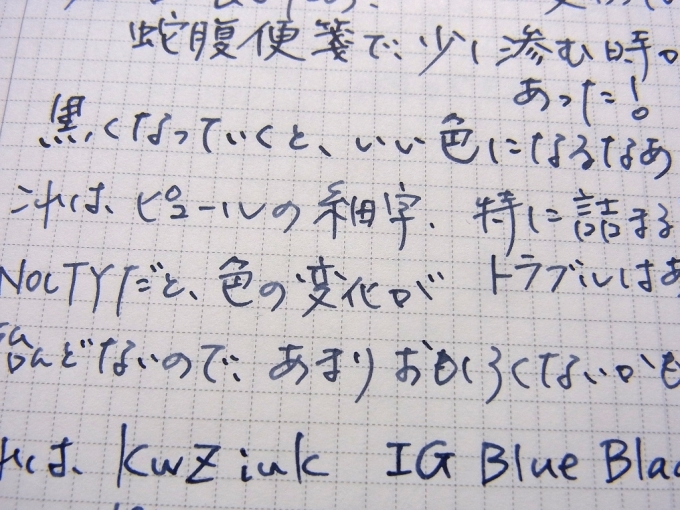 KWZ Ink - IG Blue #1 その2