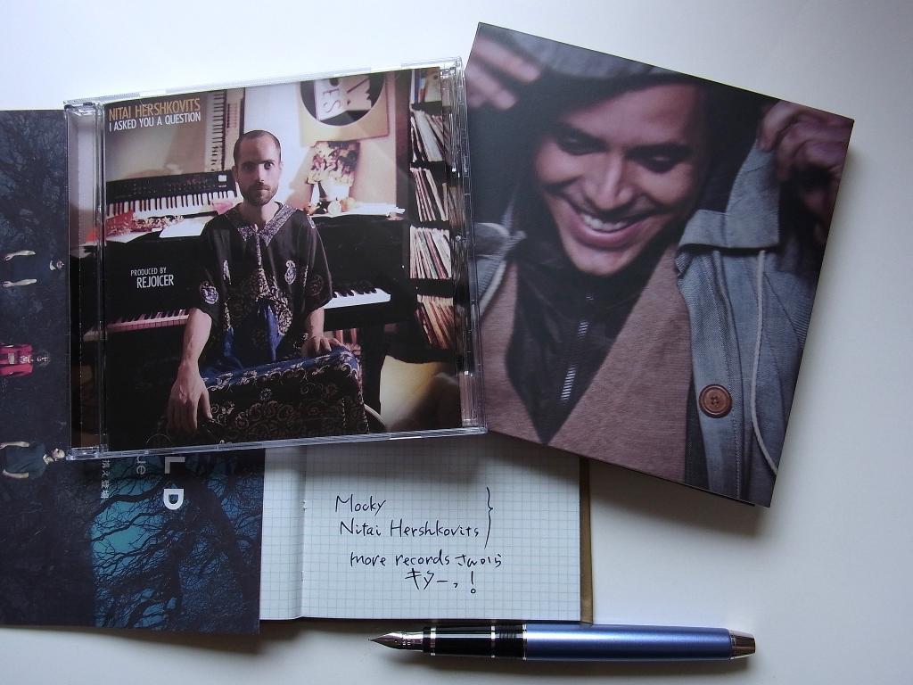 more recordsから届いたMockyとNitai Hershkovits