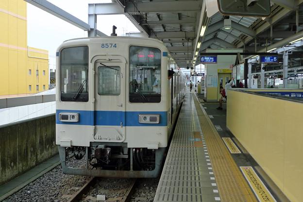 東武桐生線で太田駅へ