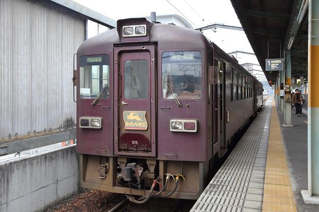 わたらせ渓谷鐵道@桐生駅