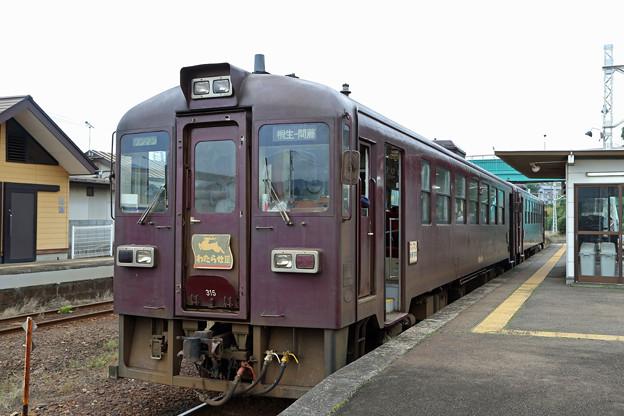 わたらせ渓谷鐵道@相老駅