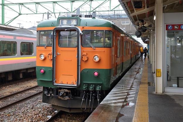 115系@吉田駅