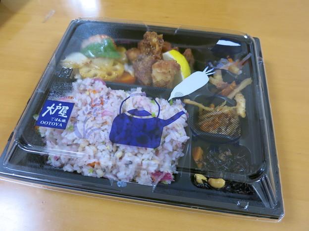大戸屋 富山婦中店 野菜たっぷり 五穀ご飯の持ち帰り弁当