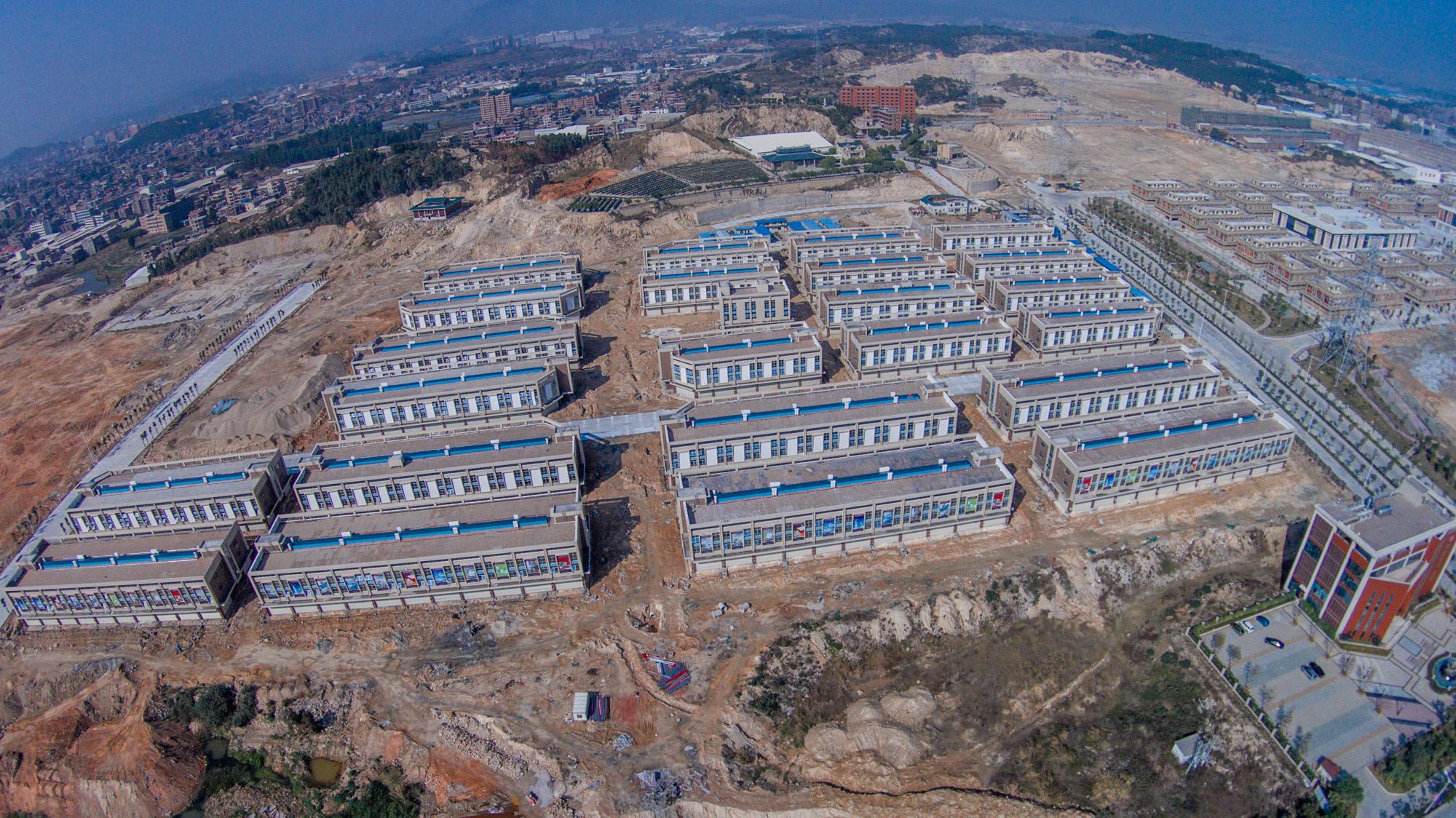 晋江磁灶家居建材城和五金机电城(航拍图)